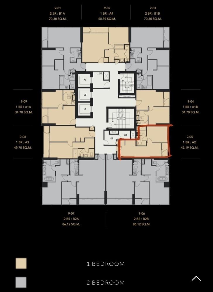 เซอเลส อโศก - ขาย คอนโด 1 ห้องนอน ติด MRT สุขุมวิท | Ref. TH-PUYOOVZY