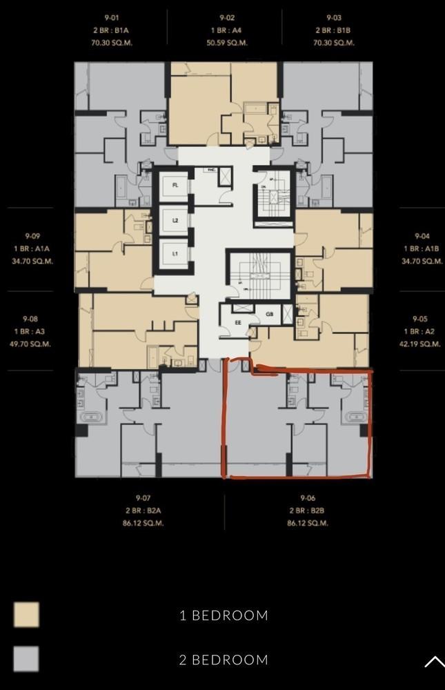 เซอเลส อโศก - ขาย คอนโด 2 ห้องนอน ติด MRT สุขุมวิท | Ref. TH-UQFHEOOV