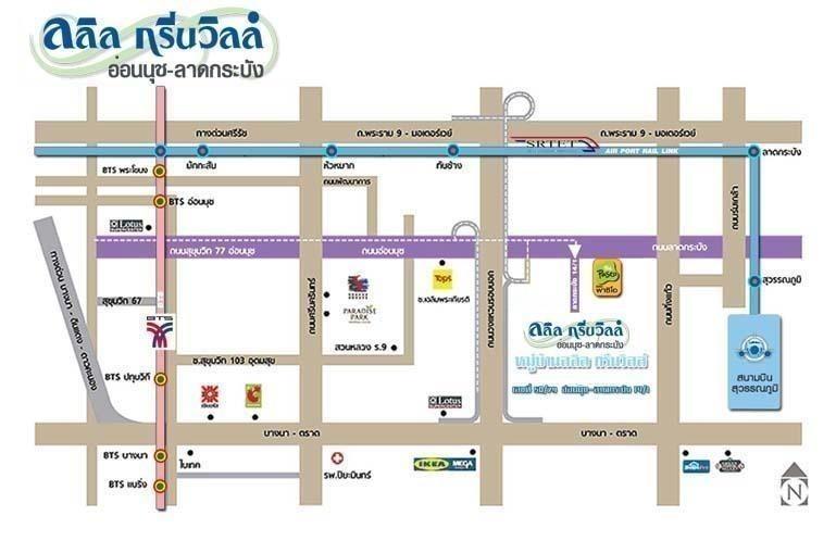 For Sale 5 Beds House in Bang Phli, Samut Prakan, Thailand | Ref. TH-SYYALPPO