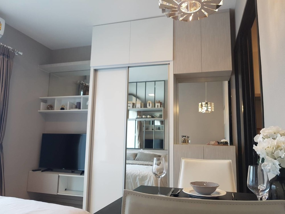 Condolette Midst Rama 9 - For Sale or Rent 1 Bed Condo Near MRT Phetchaburi, Bangkok, Thailand | Ref. TH-JYUEZNHT