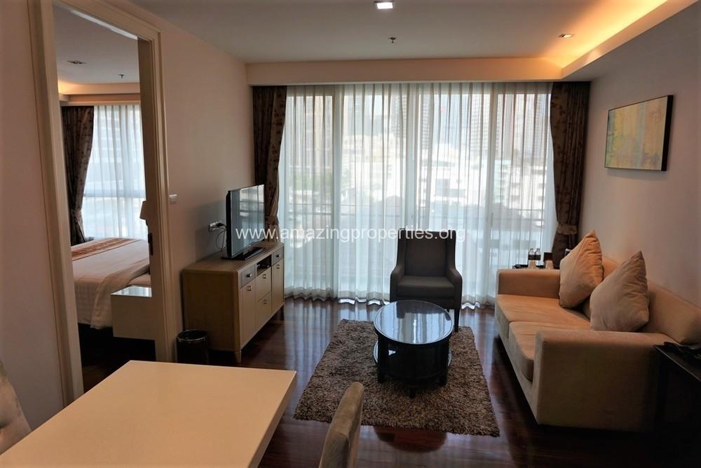 จีเอ็ม เซอร์วิส อพาร์ตเมนท์ - ให้เช่า คอนโด 1 ห้องนอน คลองเตย กรุงเทพฯ | Ref. TH-PYIEAXWF