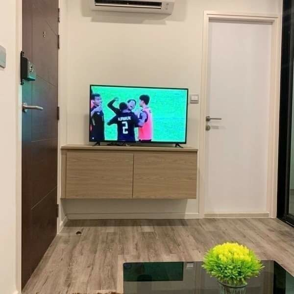 Brown Condo Huaikwang - For Rent 1 Bed Condo in Huai Khwang, Bangkok, Thailand | Ref. TH-ZKZHXPNM