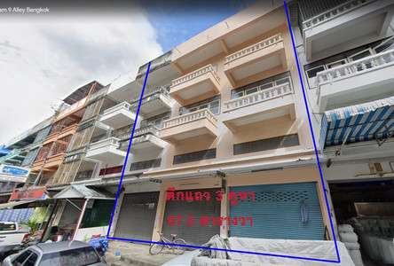 For Sale Shophouse 700 sqm in Bang Khun Thian, Bangkok, Thailand