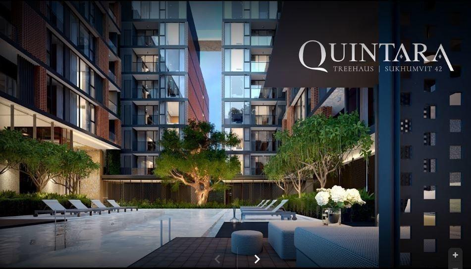 Quintara Treehaus Sukhumvit 42 - For Sale 1 Bed Condo Near BTS Ekkamai, Bangkok, Thailand   Ref. TH-YIPSVZCA