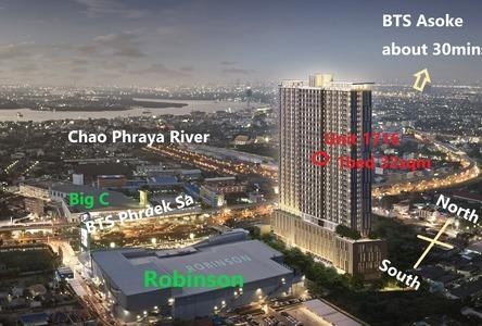 Продажа: Кондо c 1 спальней возле станции BTS Phra Khanong, Samut Prakan, Таиланд