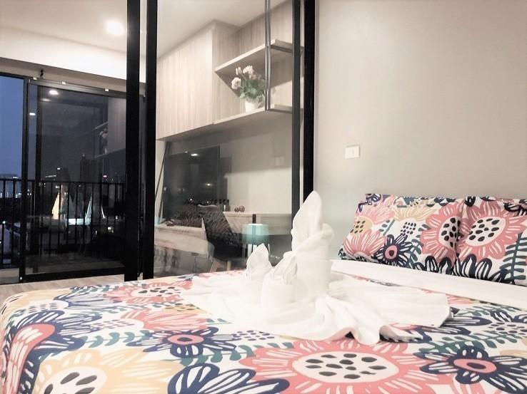บลอสซั่ม คอนโด สาทร-เจริญราษฎร์ - ขาย หรือ เช่า คอนโด 1 ห้องนอน สาทร กรุงเทพฯ | Ref. TH-QTVZWYMG