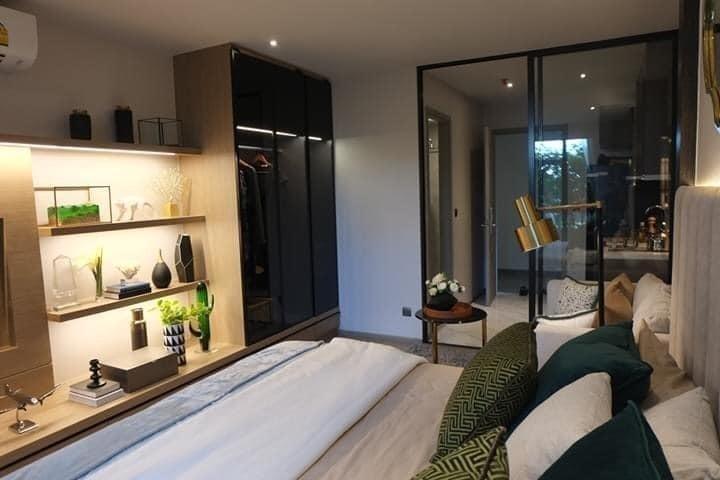 RHYTHM Ekkamai - В аренду: Кондо c 1 спальней возле станции BTS Ekkamai, Bangkok, Таиланд | Ref. TH-UVFWFMNF