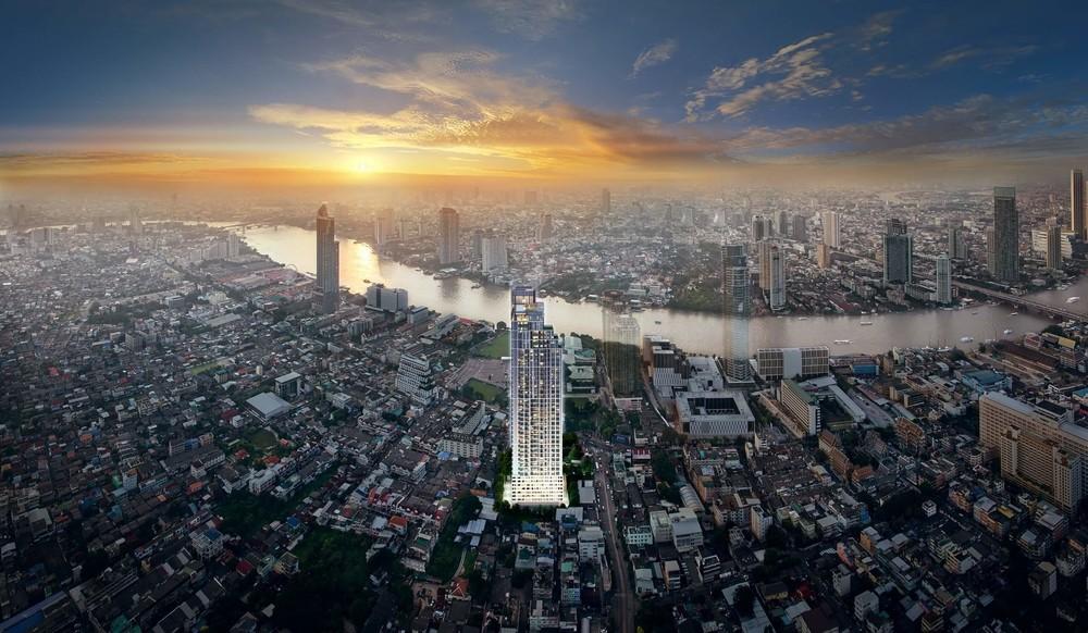 RHYTHM Charoenkrung Pavillion - For Sale 2 Beds コンド in Bang Kho Laem, Bangkok, Thailand | Ref. TH-WVJNRUBK