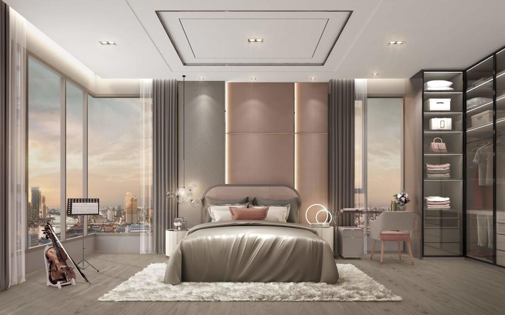 RHYTHM Charoenkrung Pavillion - For Sale 3 Beds コンド in Bang Kho Laem, Bangkok, Thailand | Ref. TH-RTRIHOWX