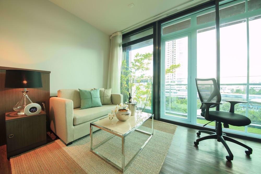 Civic Horizon - В аренду: Кондо 44 кв.м. возле станции BTS Ekkamai, Bangkok, Таиланд | Ref. TH-QEHEEPFN
