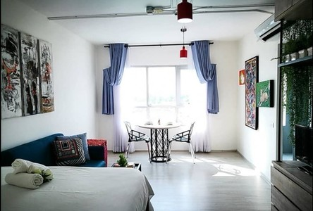 For Sale or Rent Condo 28.24 sqm Near BTS Wutthakat, Bangkok, Thailand