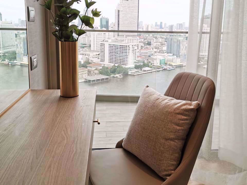 Magnolias Waterfront Residences - For Rent 1 Bed Condo in Khlong San, Bangkok, Thailand   Ref. TH-QCYUJBBY