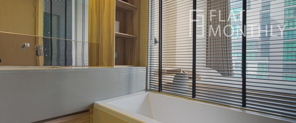 ดิ เอส อโศก - ให้เช่า คอนโด 1 ห้องนอน ติด MRT สุขุมวิท   Ref. TH-WPHFYRZD