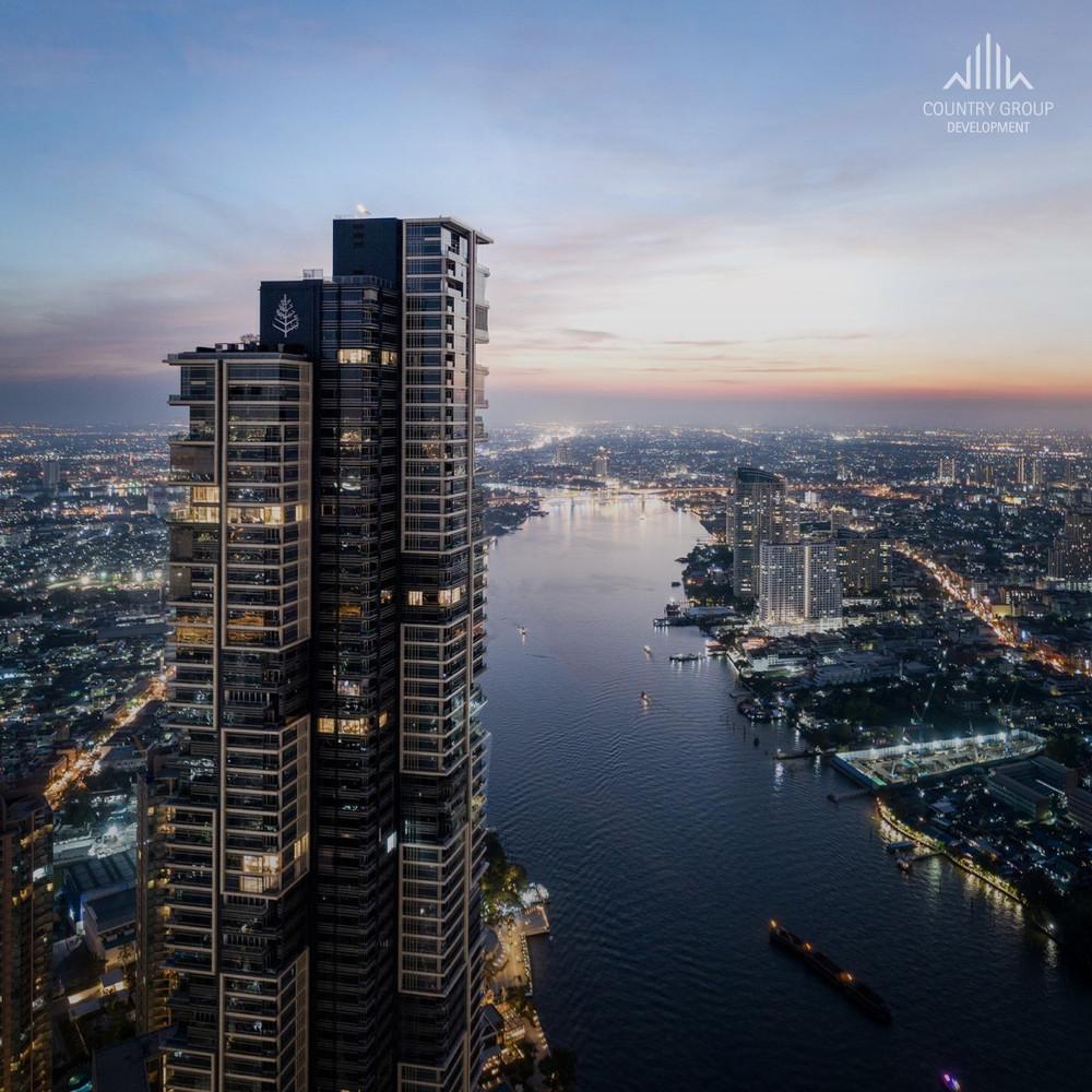 Four Seasons Private Residences - For Sale 2 Beds Condo in Bang Kho Laem, Bangkok, Thailand   Ref. TH-HFAEMPSL