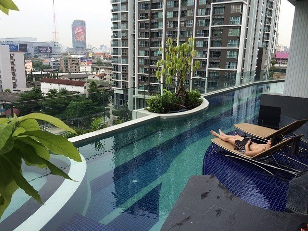 Condolette Midst Rama 9 - For Sale 1 Bed Condo Near MRT Phetchaburi, Bangkok, Thailand   Ref. TH-HNANDGXI
