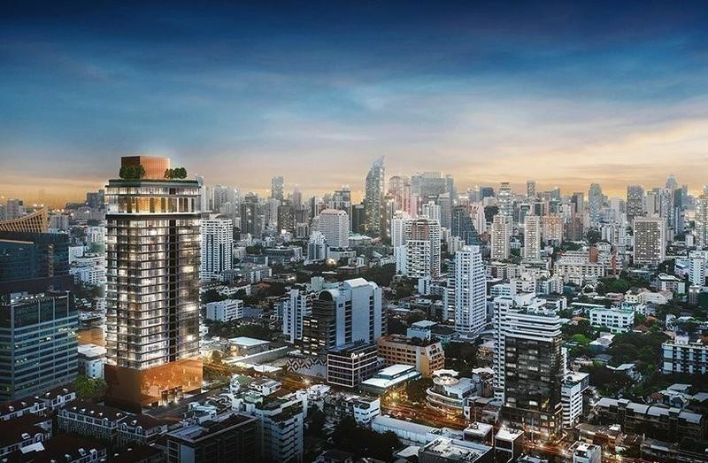 KHUN by YOO inspired by Starck - For Sale 2 Beds Condo in Watthana, Bangkok, Thailand | Ref. TH-AZJSYNKC