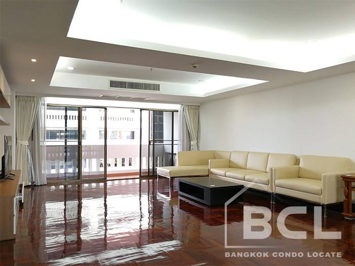 เศรษฐีวรรณ แมนชั่น สุขุมวิท 49 - ให้เช่า คอนโด 3 ห้องนอน วัฒนา กรุงเทพฯ   Ref. TH-QSHDWYAQ