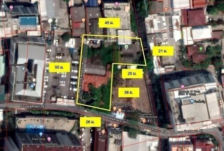 Продажа: Земельный участок 487 кв.ва. в районе Din Daeng, Bangkok, Таиланд