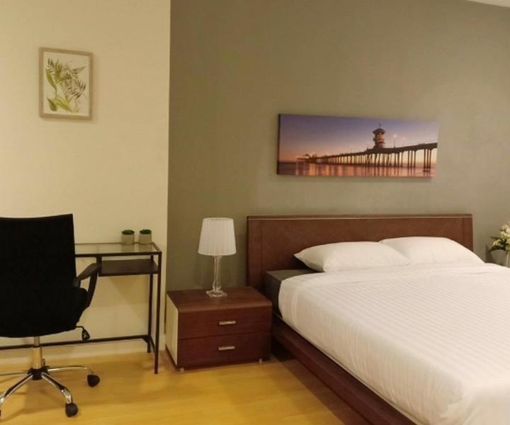 ณุศาศิริ แกรนด์ - ให้เช่า คอนโด 2 ห้องนอน ติด BTS เอกมัย | Ref. TH-VPBPAMSY