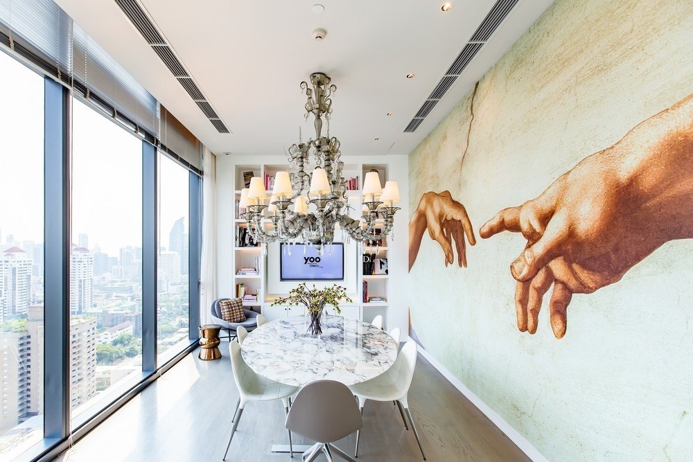 KHUN by YOO inspired by Starck - For Sale 1 Bed コンド in Watthana, Bangkok, Thailand | Ref. TH-FEFPIXWE
