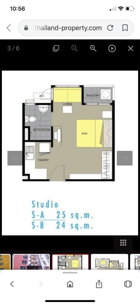 My Condo Sukhumvit 103 - For Sale コンド 24.79 sqm in Bang Na, Bangkok, Thailand | Ref. TH-QXBBAVPK