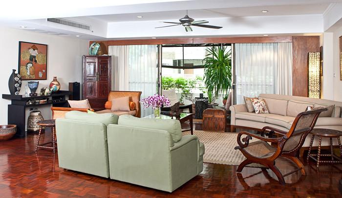 Phirom Garden Residence - For Rent 4 Beds Condo Near BTS Phrom Phong, Bangkok, Thailand | Ref. TH-VQEHOHCI