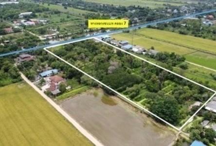 For Sale Land 12 rai in Nong Suea, Pathum Thani, Thailand