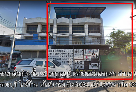 For Sale or Rent Shophouse 336 sqm in Mueang Phetchaburi, Phetchaburi, Thailand
