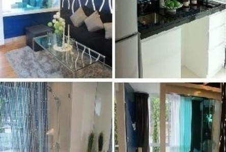 For Rent 1 Bed Condo in Huai Khwang, Bangkok, Thailand
