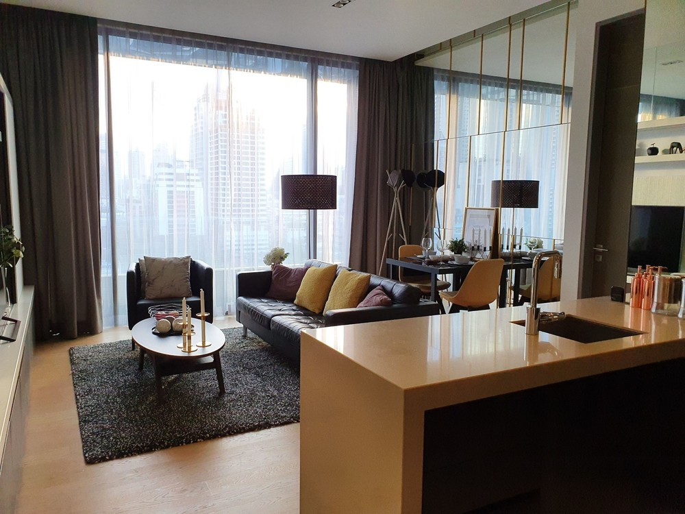 Saladaeng One - For Rent 1 Bed Condo Near MRT Lumphini, Bangkok, Thailand | Ref. TH-HPKOSQFM