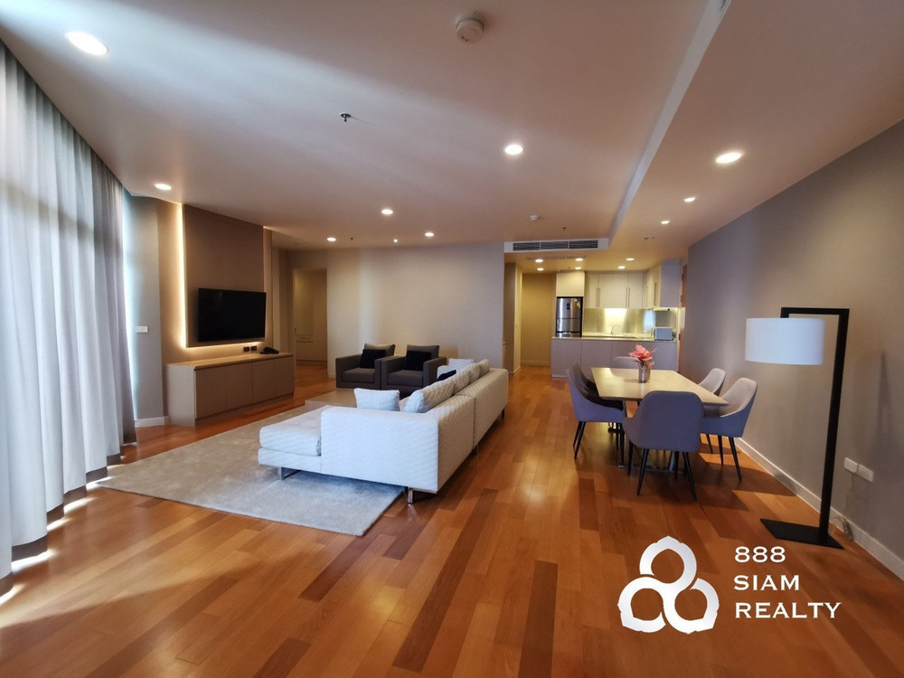 Chatrium Residence Riverside - For Rent 3 Beds Condo in Bang Kho Laem, Bangkok, Thailand   Ref. TH-XELWAOHN