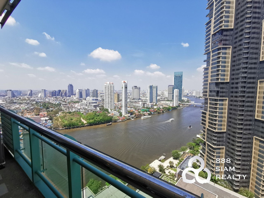 Chatrium Residence Riverside - For Rent 2 Beds Condo in Bang Kho Laem, Bangkok, Thailand | Ref. TH-MZDSJFKX
