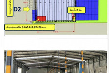 For Rent Warehouse 300 sqm in Mueang Pathum Thani, Pathum Thani, Thailand