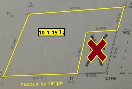 Продажа: Земельный участок 16,460 кв.м. в районе Nong Chok, Bangkok, Таиланд