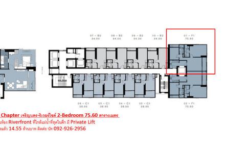 For Sale 2 Beds コンド in Khlong San, Bangkok, Thailand