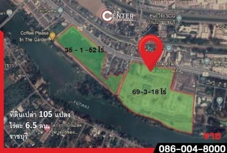 For Sale Land in Mueang Ratchaburi, Ratchaburi, Thailand