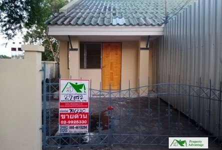 For Sale 1 Bed Townhouse in Wang Noi, Phra Nakhon Si Ayutthaya, Thailand