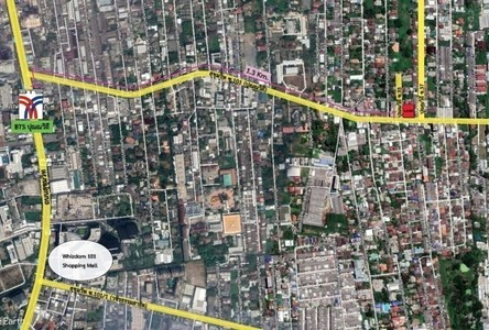 Продажа: Земельный участок 1,572 кв.м. в районе Phra Khanong, Bangkok, Таиланд