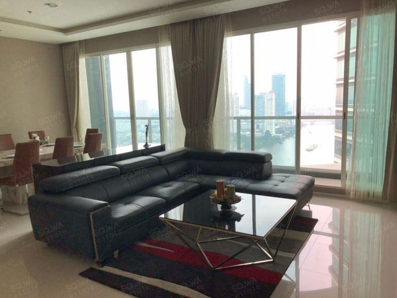 Menam Residences - For Sale or Rent 3 Beds Condo in Bang Kho Laem, Bangkok, Thailand | Ref. TH-NFYFRBZH