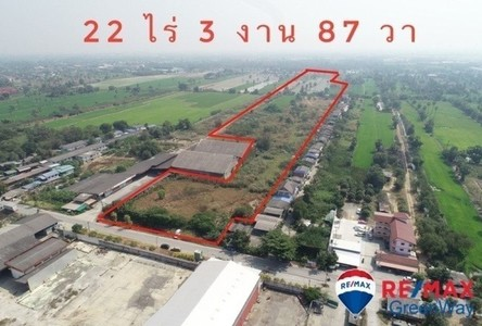 For Sale Land 36,750 sqm in Mueang Pathum Thani, Pathum Thani, Thailand