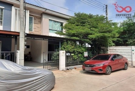 For Sale Townhouse 111 sqm in Phutthamonthon, Nakhon Pathom, Thailand