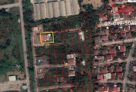 Продажа: Земельный участок 800 кв.м. в районе Bang Khen, Bangkok, Таиланд