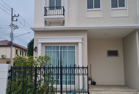 For Sale 2 Beds タウンハウス in Mueang Pathum Thani, Pathum Thani, Thailand