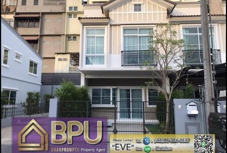 For Rent 2 Beds Townhouse in Prawet, Bangkok, Thailand
