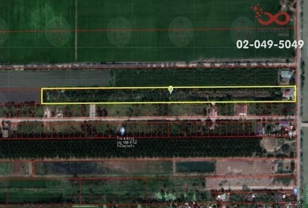 For Sale Land 16,000 sqm in Nong Suea, Pathum Thani, Thailand