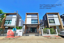 For Sale or Rent 3 Beds Townhouse in Hua Hin, Prachuap Khiri Khan, Thailand