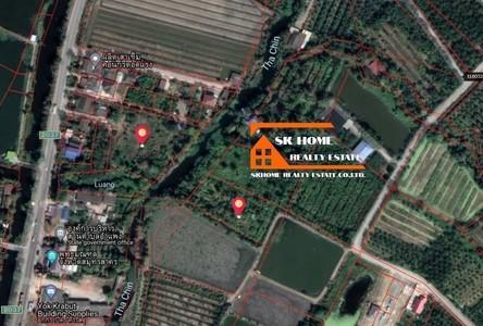 For Sale Land 8,252 sqm in Ban Phaeo, Samut Sakhon, Thailand