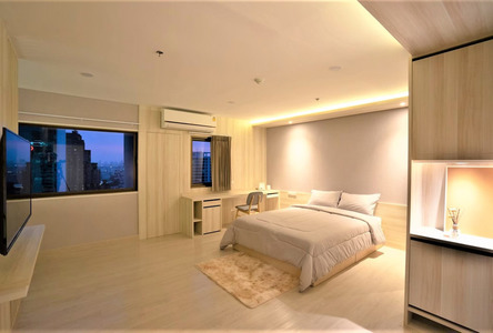 For Rent Condo 35 sqm in Phaya Thai, Bangkok, Thailand