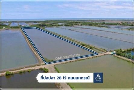 ขาย ที่ดิน 44,800 ตรม. เมืองสมุทรสาคร สมุทรสาคร