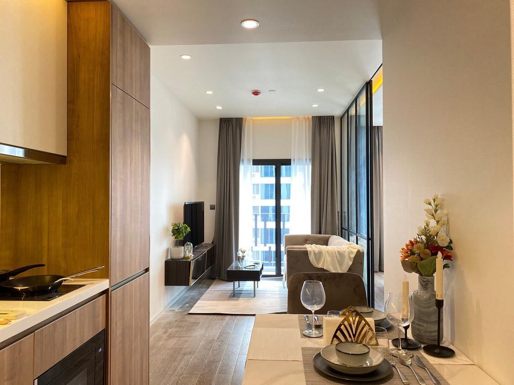 MUNIQ Sukhumvit 23 - For Rent 1 Bed Condo Near MRT Sukhumvit, Bangkok, Thailand   Ref. TH-OWVNHTMW